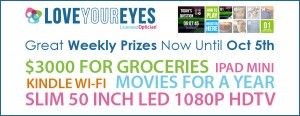 Love Your Eyes Contest at Beaulieu Vision Care